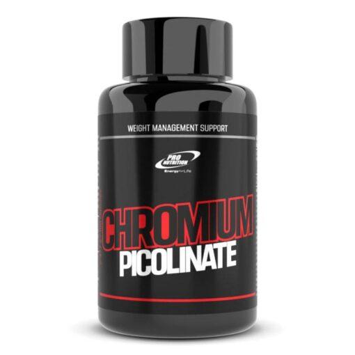 Chromium Picolinate - Reglează cantitatea de zahăr în sânge și reduce colesterolul
