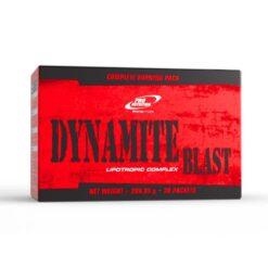 Dynamite Blast - Conține vitamine, acizi graşi esenţiali şi arzători de grăsimi.