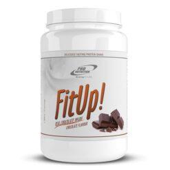 FitUp - Shake proteic delicios cu bucăți de ciocolată sau fructe, bogat în proteine