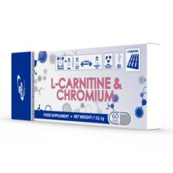 L-Carnitine & Chromium - Contribuie la arderea grăsimilor
