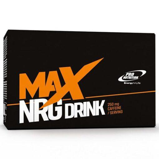Max NRG Drink - Pro Nutrition