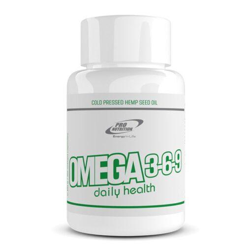 Omega 3-6-9 - Acizi graşi esenţiali din ulei de cânepă presat la rece