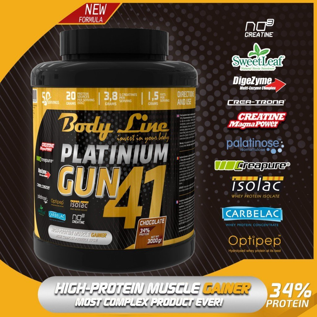 Cel mai bun gainer pentru masa musculara
