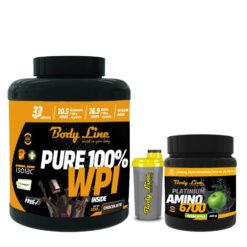 PACHET BODY LINE CELE MAI BUNE PROTEINE + SHAKER- proteine pentru masa musculara