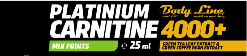 PLATINIUM CARNITINE 4000+ carnitina fiole new