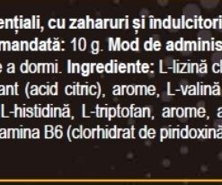 aminoacizi ingrediente