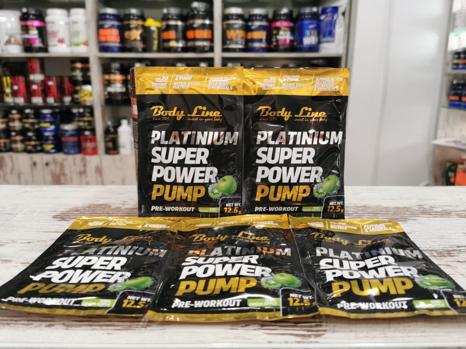Pre-workout - S.P.P. – SUPER POWER PUMP by Body Line