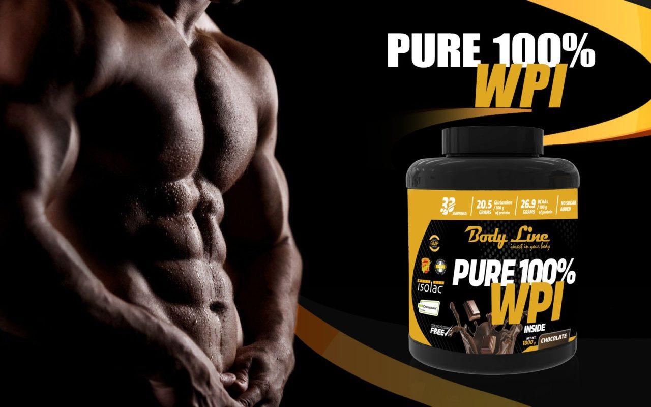 proteina din zer - pure wpi 100%