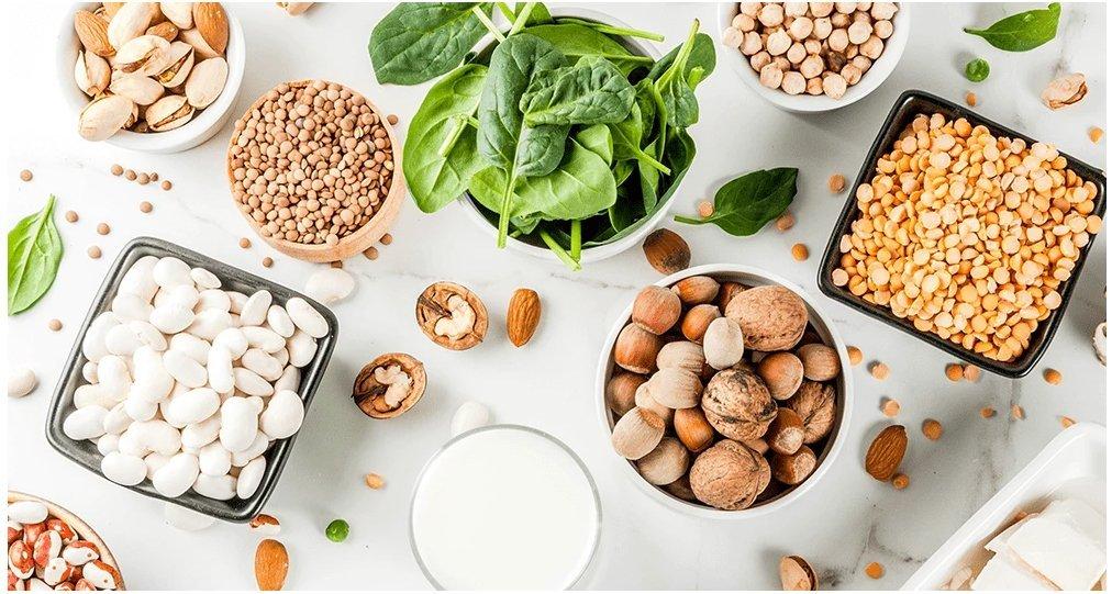 Surse de proteine in regimul vegan