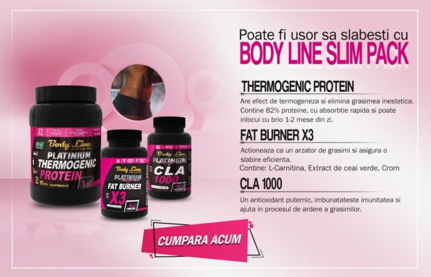 body line slim pack slabire rapida