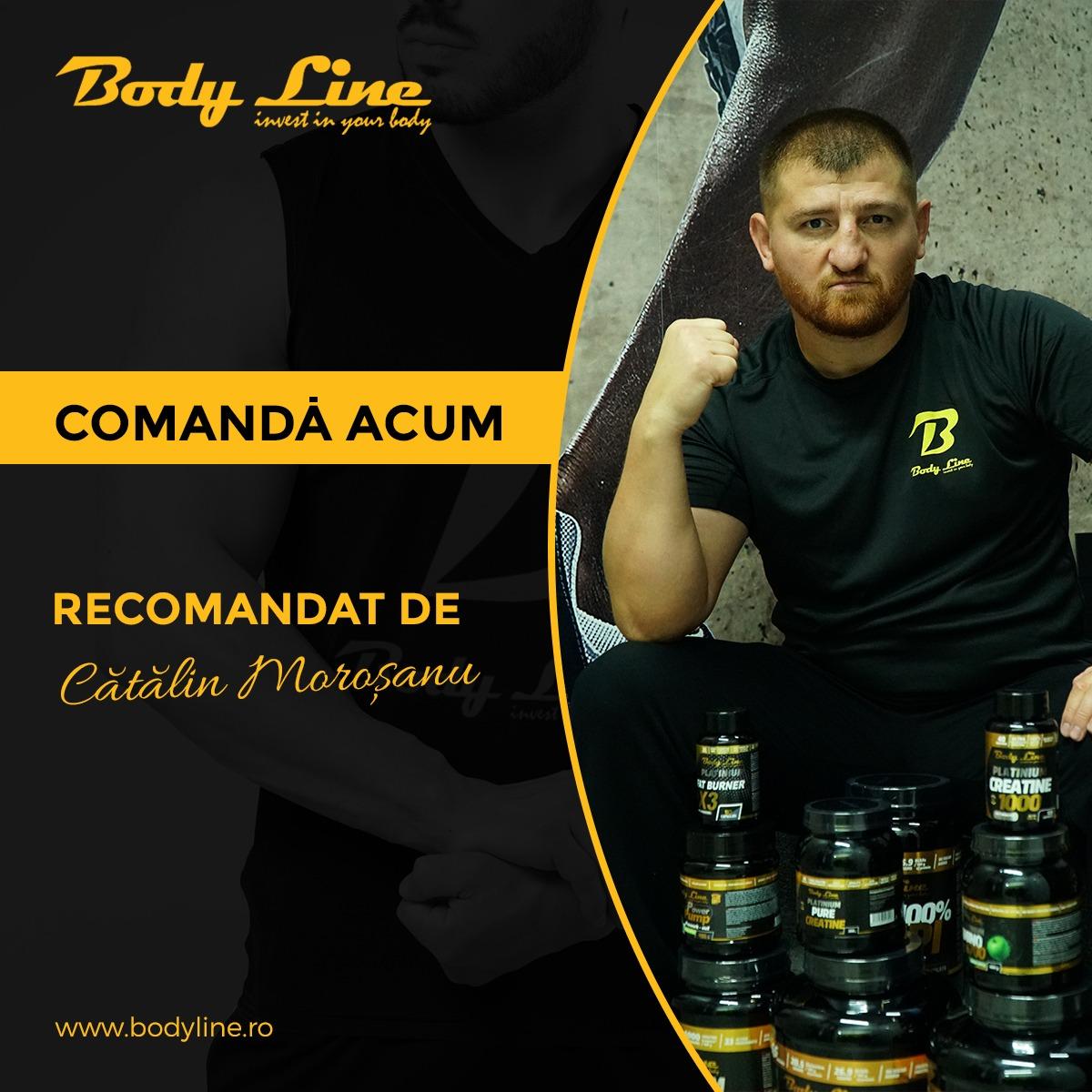 SUPLIMENTE NUTRITIVE BODY LINE RECOMANDATE DE CATALIN MOROSANU