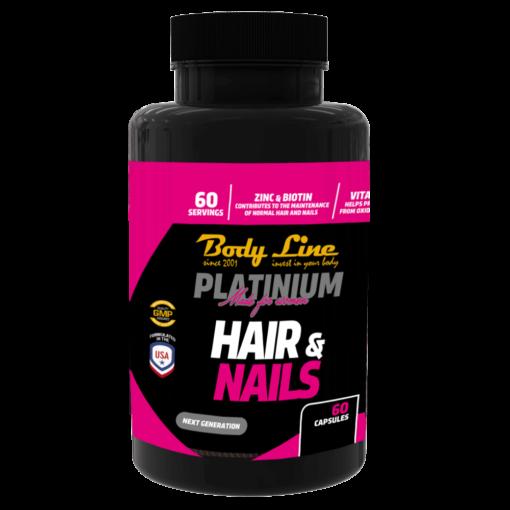 NEW BODY LINE PLATINIUM HAIR&NAIL - tratament pentru păr și unghii
